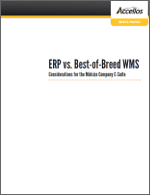 ERP vs Best of Breed WMS