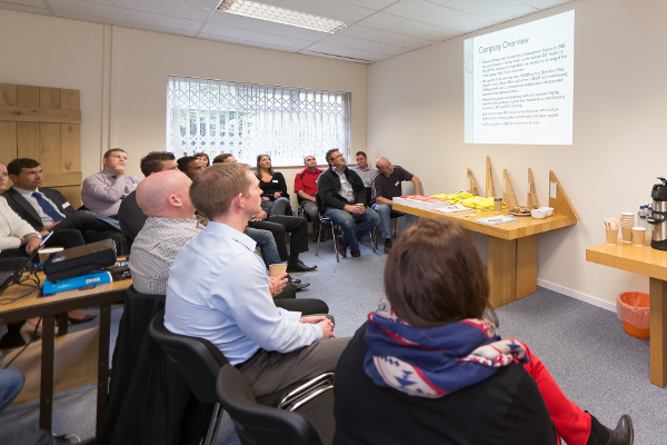 Balloon One Accellos Users' Conference 2015: presentation by Premium Timber Products