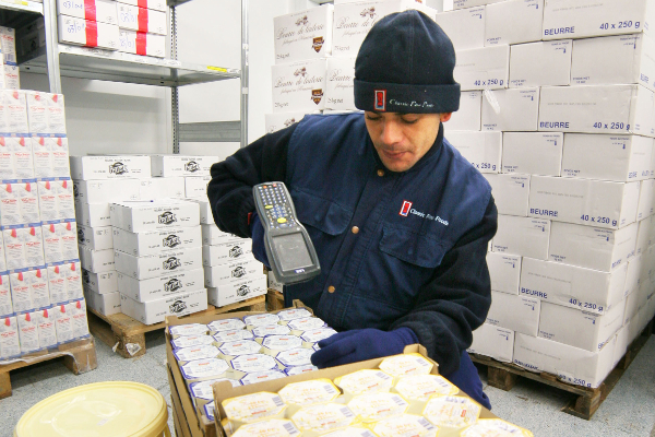 ERP features for food distribution