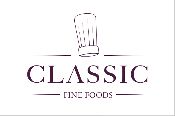 Classic Fine Foods logo case study
