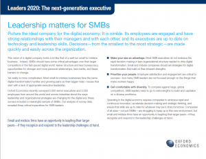 Leaders 2020 The next-generation executive