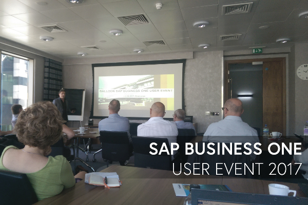 SAP Business One User Event 2017