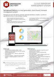 Springboard Delivery Datasheet