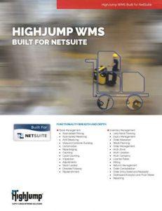 WMS-HighJump-WMS-NetSuite-PL