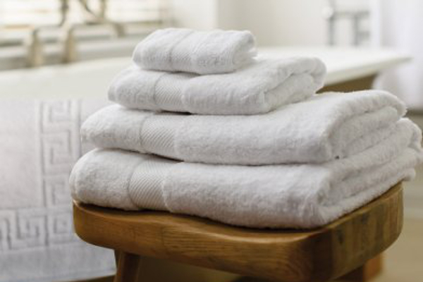 Star Linen towels in bathroom