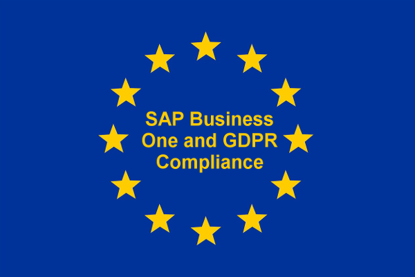 SAP Business One and GDPR