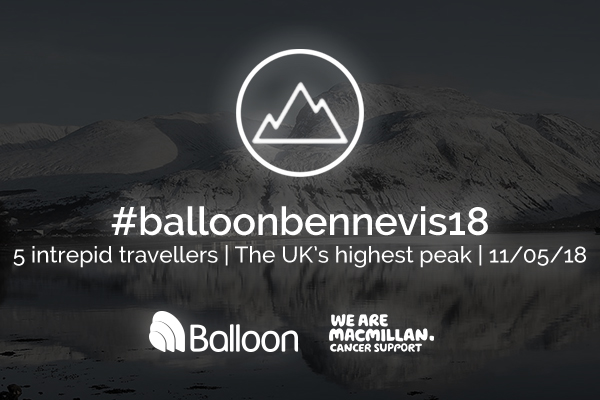 Balloon One Ben Nevis Charity Challenge 2018