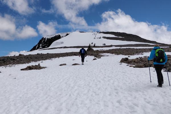 Ben Nevis final ascent
