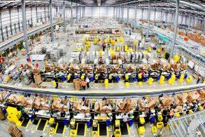 Amazon's Hemel Hempstead fulfilment centre
