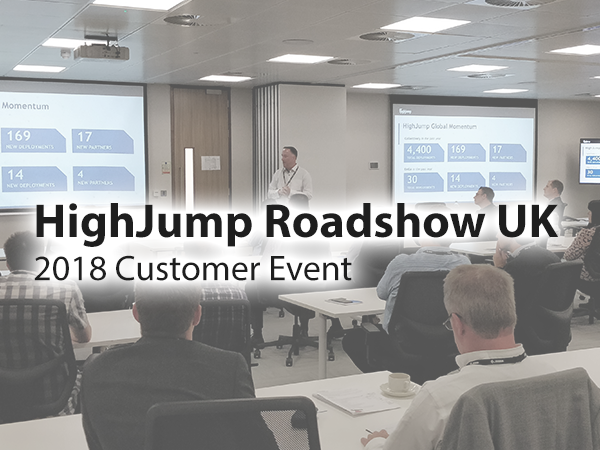 HighJump UK Elevate Roadshow 2018