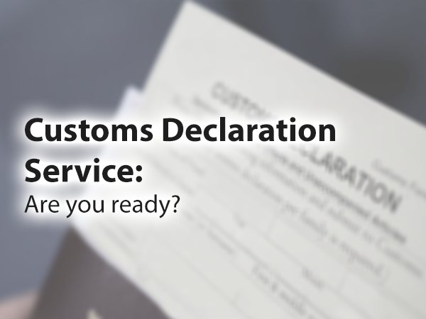 Customs Declaration Service