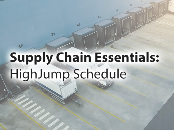 Schedule Advantage Supply Chain Essentials