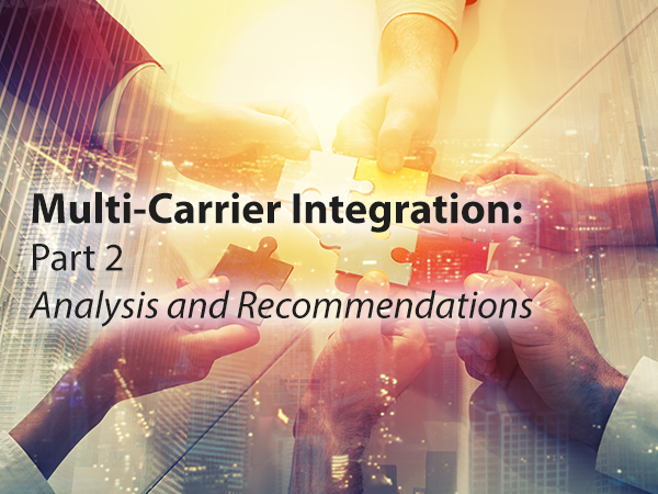 Multi-Carrier Management recommendations