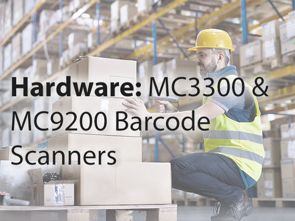 Barcode scanners MC3300 MC9200