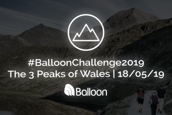 Balloon Welsh Three Peaks Challenge 2019