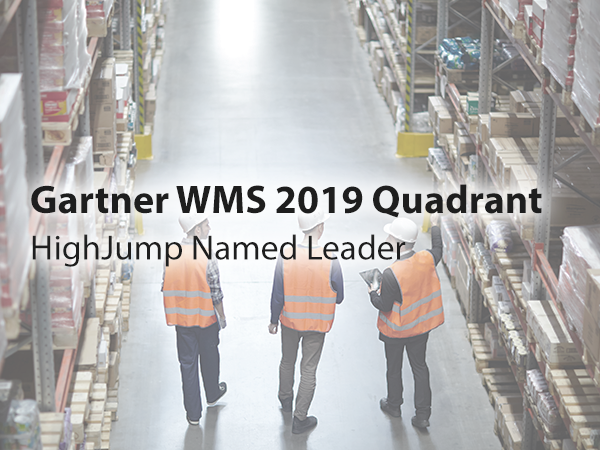 Gartner 2019 Magic Quadrant for WMS