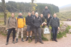 Before climbing Pen Y Fan