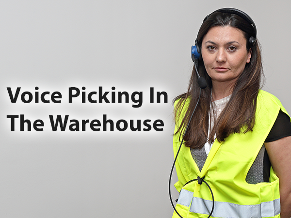 Voice picking in the warehouse