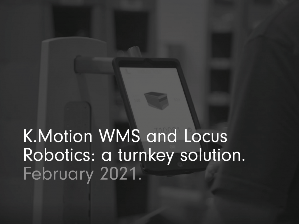 Implementing robots in the warehouse need not be difficult. In fact, it is incredibly easy if you choose the right supplier. Robots from Locus Robotics are a turnkey solution for anyone already running K.Motion WMS (previously HighJump WMS and Accellos WMS). LocusBots are fully compatible with these systems, having been purposefully designed to integrate seamlessly with them. Locus Robotics provides a complete solution, with everything you need to get started. So, you don't need to worry about your server being compatible nor do you have to source specific hardware or firmware. Here's what you get with this ready to go solution.